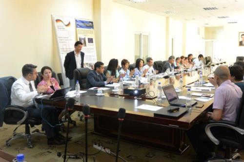 Встреча региональной рабочей группы из Таджикистана, Узбекистана и Кыргызстана по разработке Пояснительной Брошюры в соответствии со стандартом ЕЭК ООН DDP-15 (16-18 мая, 2017г.)