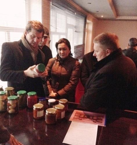 Встреча производителей и переработчиков с поставщиками сырья (Ашан) в Курган-Тюбе 30.01.2015г.