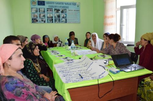 Тренинги по бизнес-планированию и маркетингу для ремесленников Хатлонской области (11-13 мая 2018 г.)