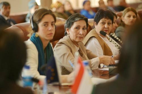Круглый стол по поддержке женского предпринимательства и ремесленничества, 13 октября 2017 г.