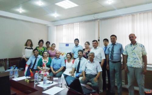 1-я сессия ТоТ по безопасности пищевых продуктов НАССР и маркетинг. Душанбе, 3-4 июня 2014 г.