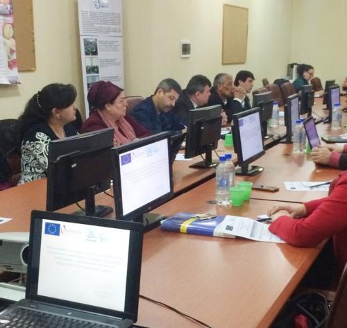 4-я сессия тренингов по пищевой безопасности НАССР и маркетингу. Душанбе, 24 - 26 марта 2015 г.