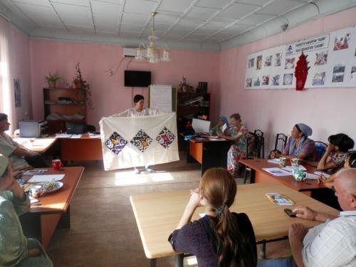 Тренинги для ремесленников Хатлонской области